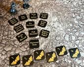 Warhammer 40000 Tabletop Wargaming Astra Militarum Themed Token Set