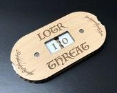 LOTR TCG - Premium Threat Tracker Dial