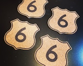 Route 6 Cork Coaster Set...