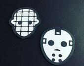 Jason & Pinhead Halloween Coaster Set