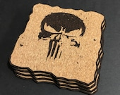 The Punisher Cork Coaster...