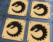 Genestealer/Tyranid Themed Coaster Set