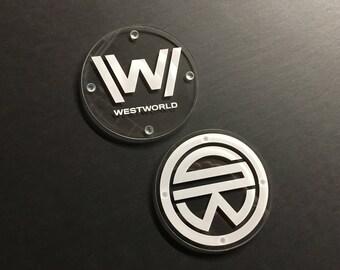 Westworld/Samurai World Coaster Set