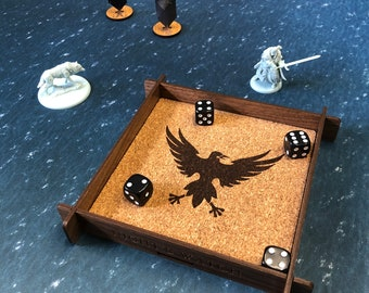 Night's Watch Dice Tray - A Song of Ice & Fire TMG