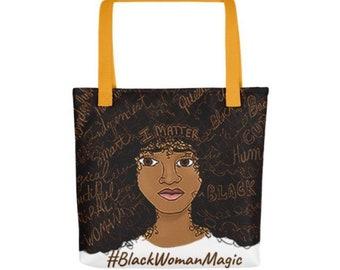 Black Woman Magic Bag a38eb92739df9