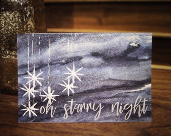Oh Starry Night Holiday Card!