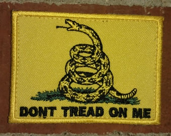Gadsden Snake  / Don't Tread On Me - Morale/Tactical Patch