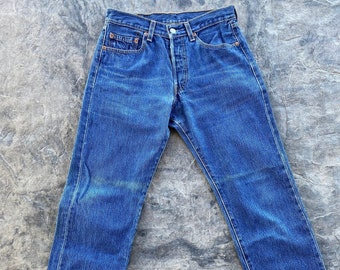 Early 2000s Levi's 501 XX  Button Fly Jeans Blue Vintage 29 X 30