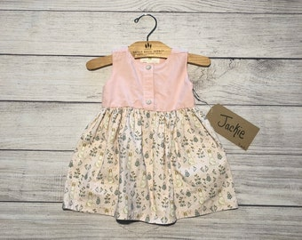 9 Month Fit and Flare Dress w/Jackalopes- Jackie
