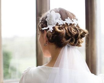 Lace Bridal Flower Hair Vine