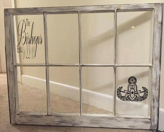 Eod Picture Frameantique Window Etsy