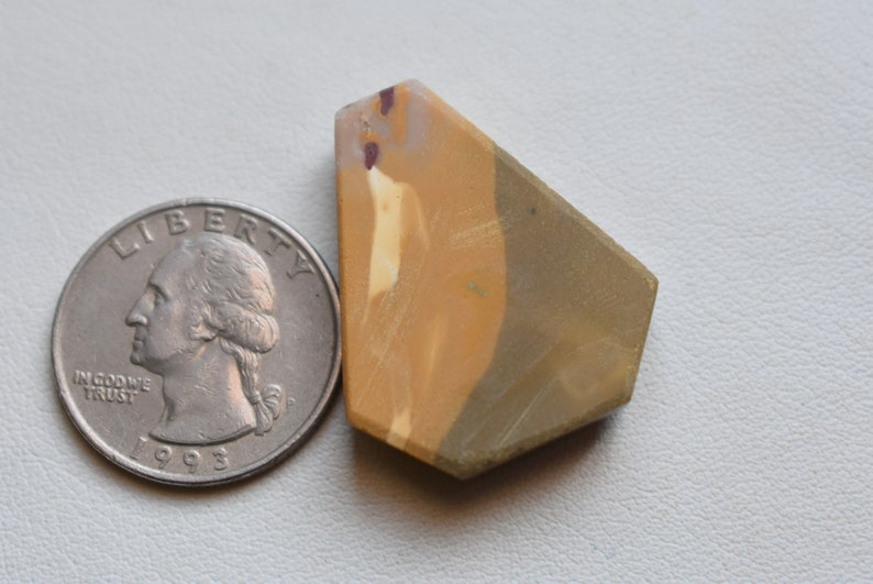 Mookaite Jasper cabochon 32x27x6 Coffin shape Mookaite Jasper Pendant making gemstones #GP9152