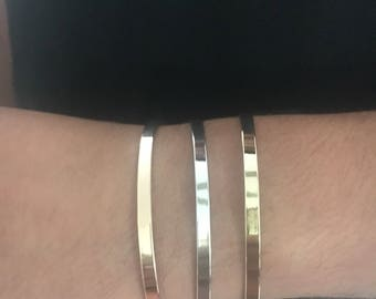 2 bought 3 available in 925 sterling silver bangles bracelets