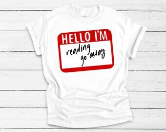 6ab1a910054fb Funny name tag shirt | Etsy