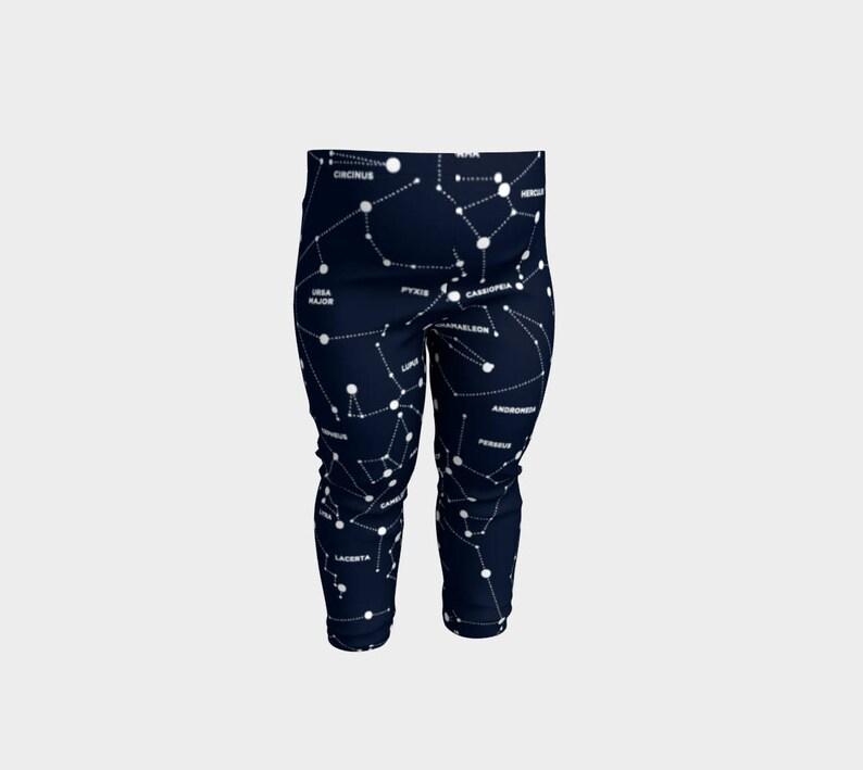 02c070437a3f9 Constellation Baby Leggings Constellation Leggings Galaxy | Etsy