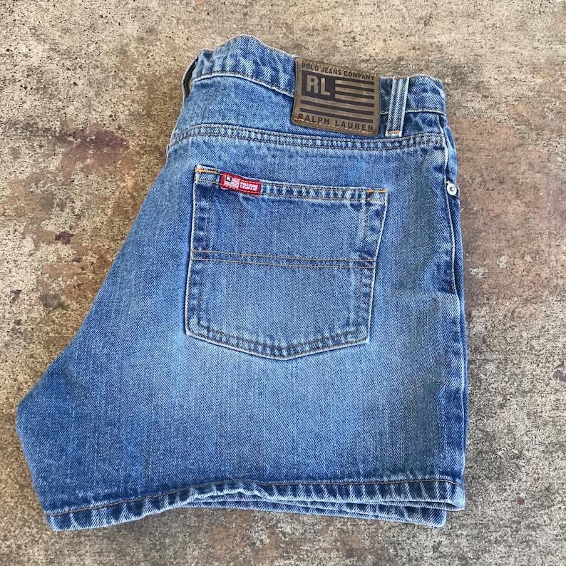ab5f33242d7f Vintage Womens Ralph Lauren Polo Jeans Co Denim Shorts