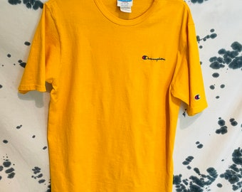 Vintage Champion Yellow T-Shirt