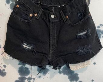 Petros Vintage Levis Cut Off Distressed Shorts