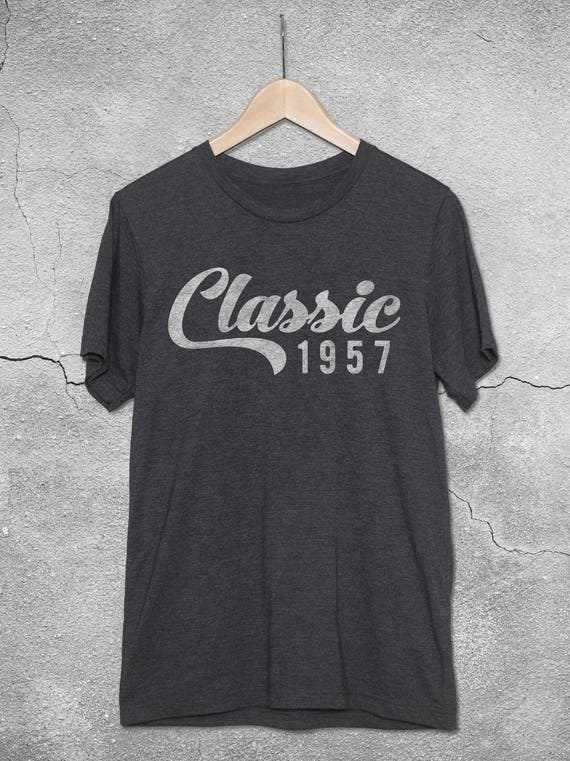 Classic 1957 Shirt 60th Birthday Gift Ideas For Women Men