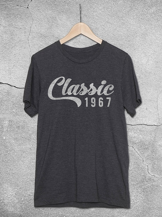 Classic 1967 1968 Shirt 50th Birthday Gift Ideas For Women