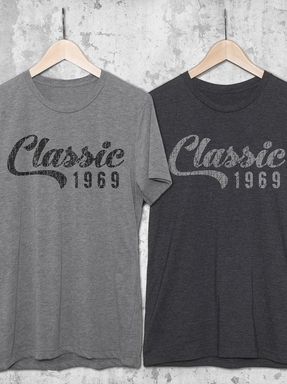 Classic 1969 T Shirt 50th Birthday Gifts For Women Men
