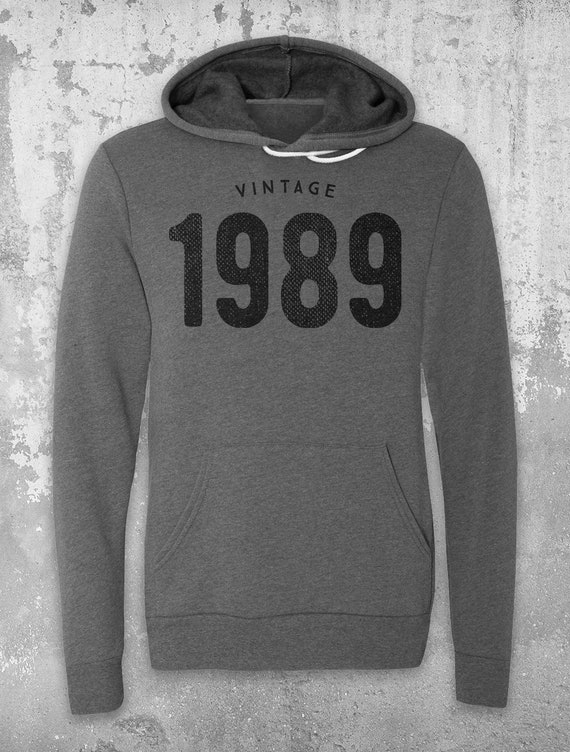 Vintage 1989 Hoodie 30th Birthday For Her And Him Unique