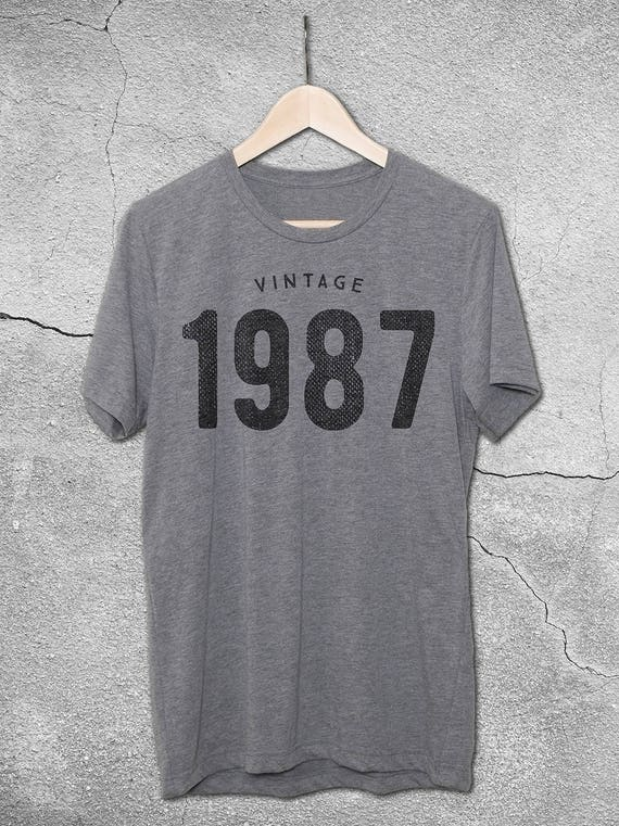 30th 31st Birthday For Him Or Her VINTAGE 1987 1988
