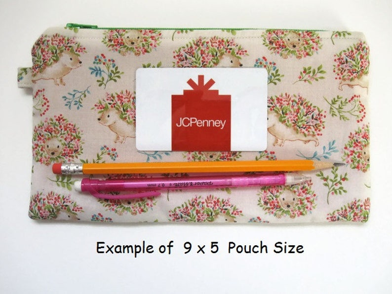 Spring Flower Small Zip Bag Floral Pencil Case Gift Card Coupon Holder Optional Wrist Strap Money Coin Wallet Daffodil Zipper Pouch