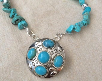 Handmade Turquoise Dream Necklace