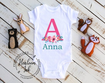 Personalized Baby Girl Take Home Outfit  47e6812db7ed