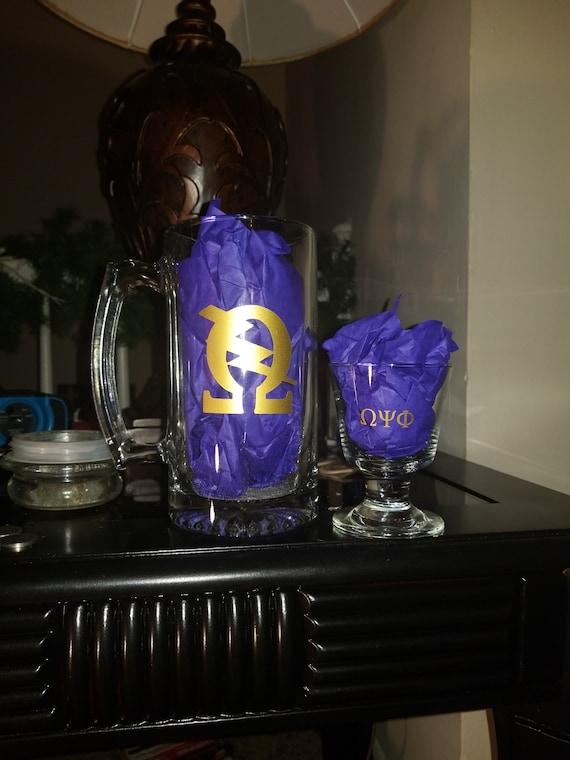 Omega Psi Phi pillow | Etsy
