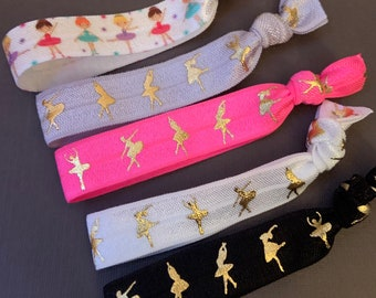 Floss Dance Party Favors,Hip hop party dance hair ties dancer gift,floss like a boss gift for dancer dance team thank you