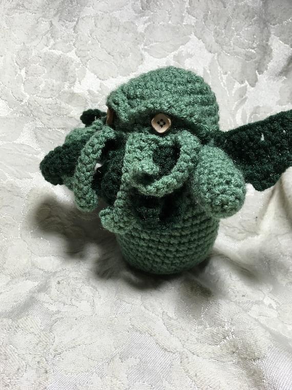 Pattern Crochet Amigurumi Cthulhu | Etsy