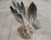 "4""-6"" Dark Gray Duck Feathers"