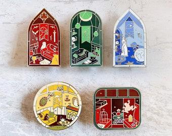 Magic Windows Enamel Pins Set