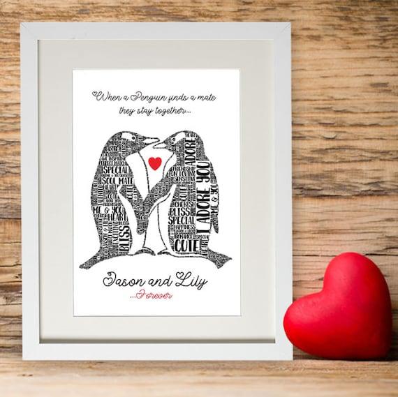 LOVE Wedding Gift Word Art Wedding Engagement Present Gift