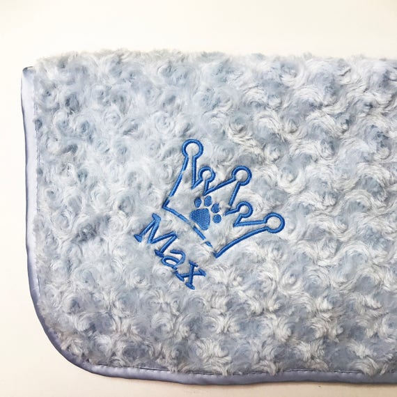 Personalised Embroidered Luxury Baby Blanket Soft Fluffy Cosy Swan Gift Fleece