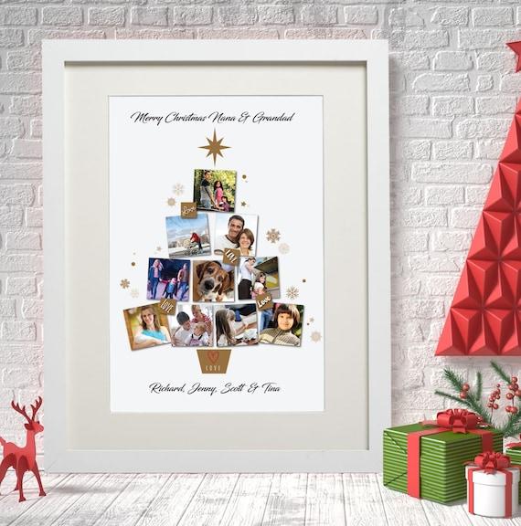 cumpleaños regalo de Navidad Libro De Recuerdos familia Momia Personalizadas Foto Álbum