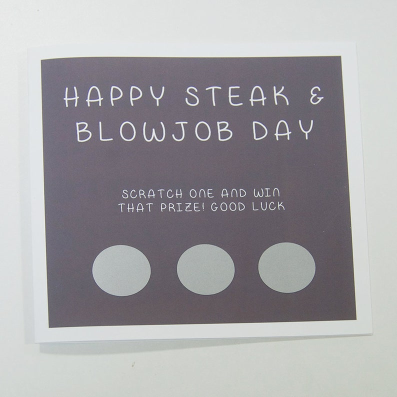 Steak snd blowjob dag