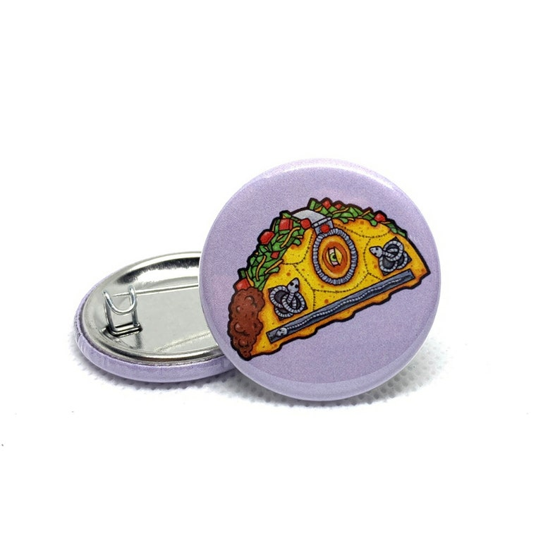 Pin back Buttons 4pk Bundle Collectible Pins