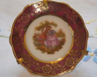 Limoges miniature collectors plate