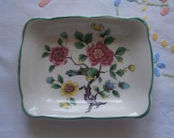 Old Foley James Kent Ltd Chinese Rose small trinket dish
