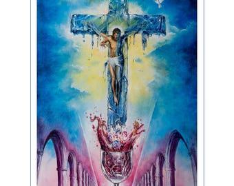 Resurrection of Christ (Ice Cross)