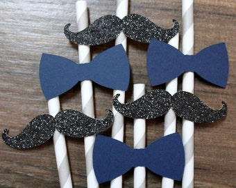 Mustache bow tie | Etsy