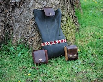 Bushcraft Foraging Belt Bag