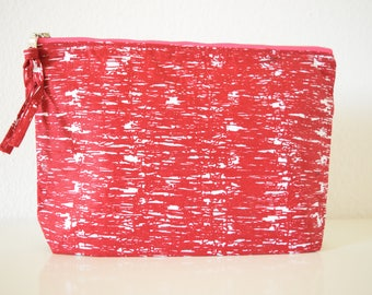 Red Sea African Fabric Clutch