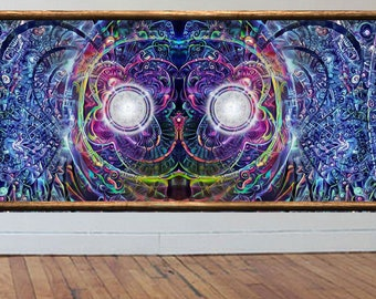 Strange vision *limited edition* visionary art large wall art psychedelic art prints