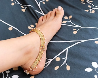 Anklets Jewelry & Watches Girls Gold Plated And Diamante Anklets