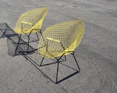 Pair of Harry Bertoia Diamond Chairs by Knoll