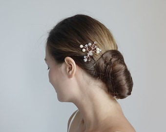Pearl/crystal Wedding Hair Pins/ Bridal hair accessories/Bridal hair pins/ Wedding hair pieces/bridal hair accessories